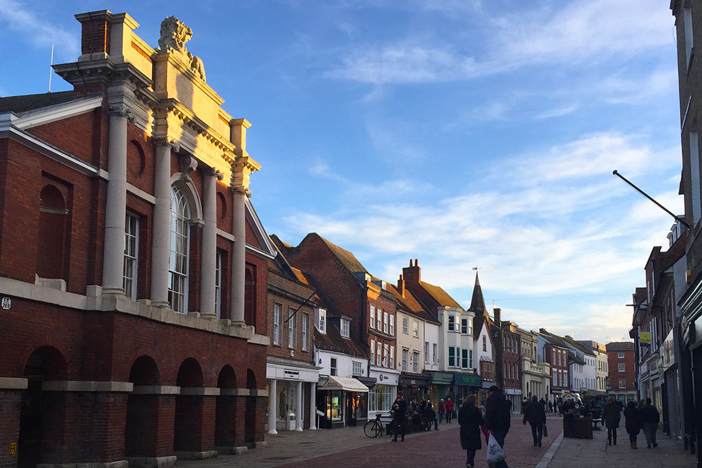 The UK High Street and Chichester