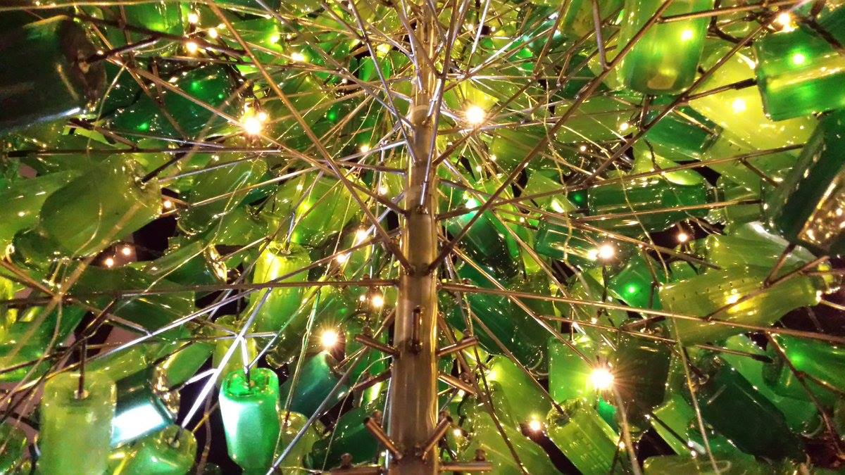 A Christmas tree with a difference…