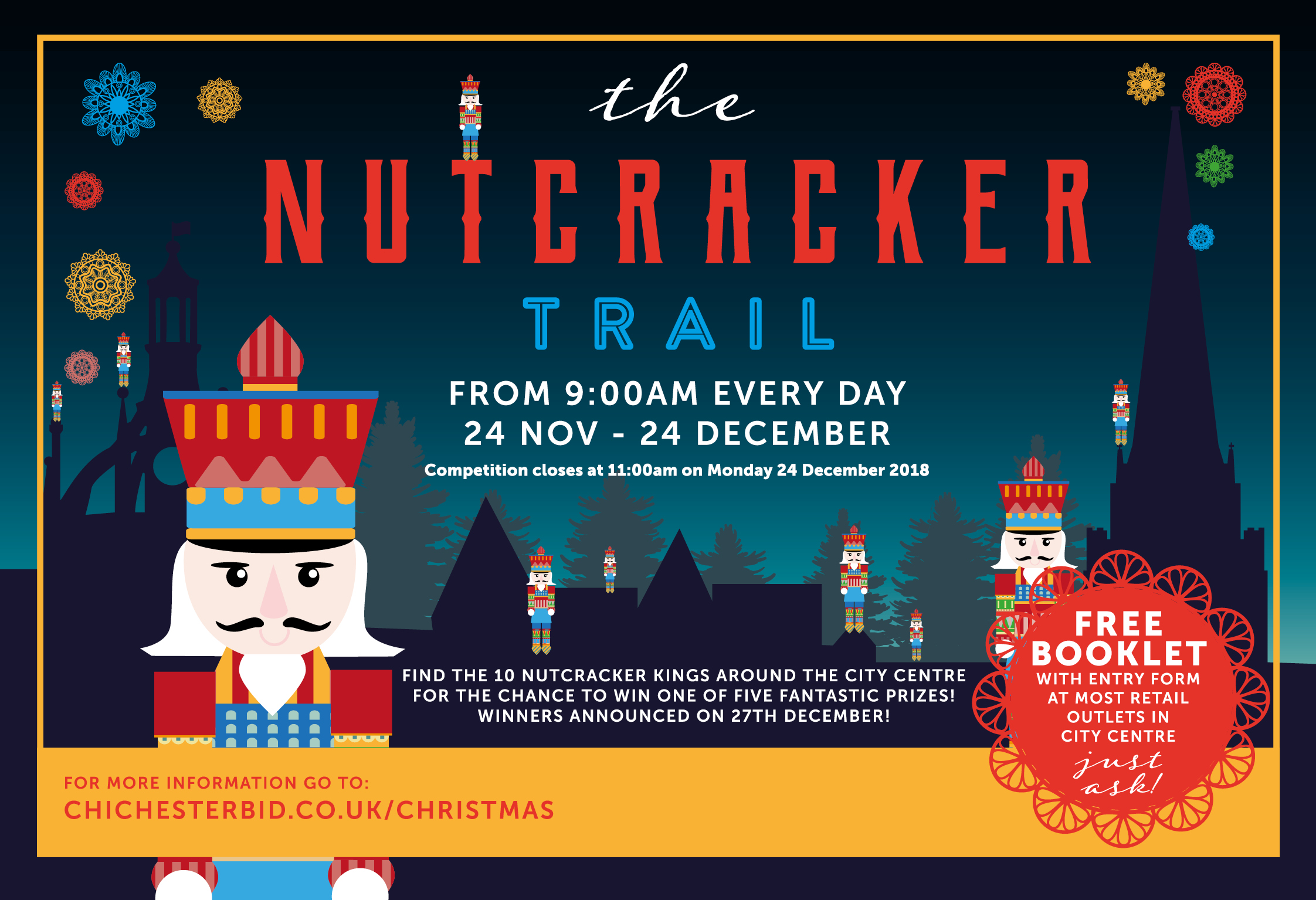 Join in the Chichester Nutcracker Trial!